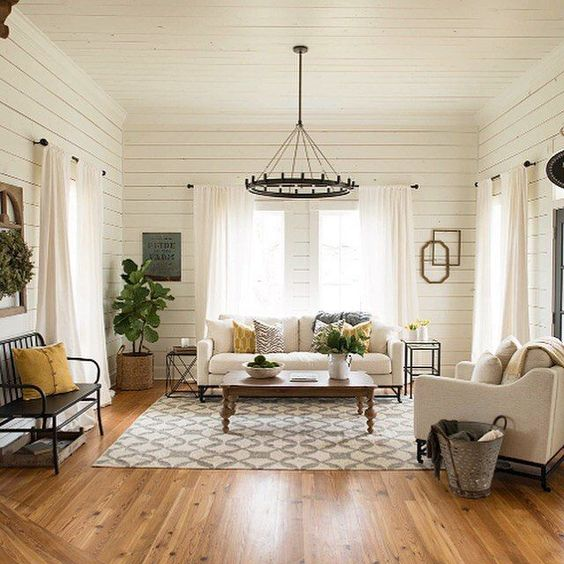 farmhouse living room 5