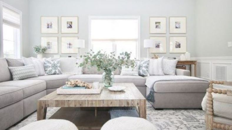 farmhouse living room feature