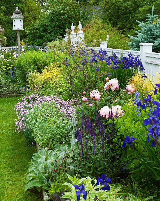 flower backyard ideas 1