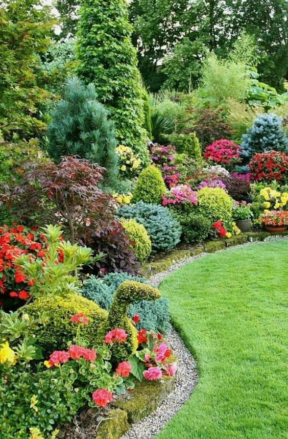 flower backyard ideas 24