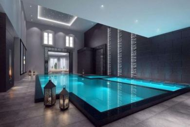indoor swimming pool feature