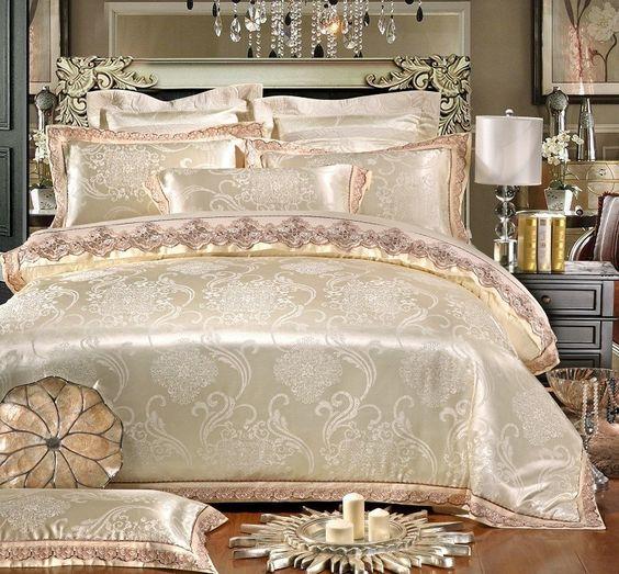 rose gold bedroom 10