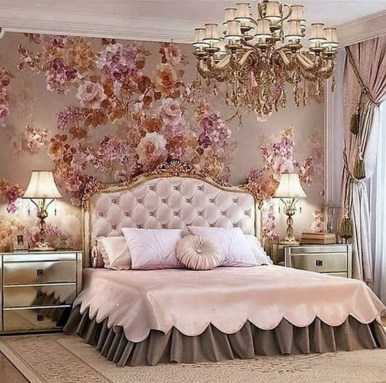 rose gold bedroom 23