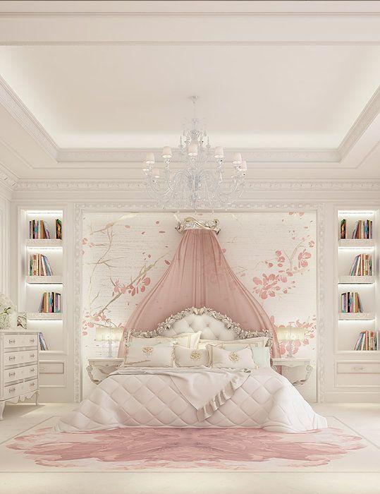 rose gold bedroom 24