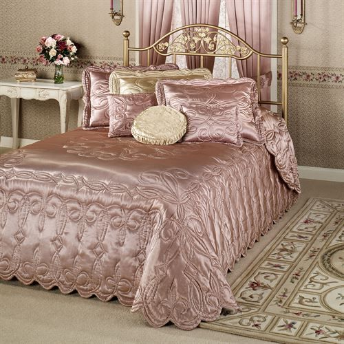 rose gold bedroom 9