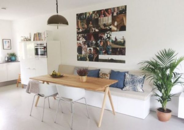 small dining decor feature