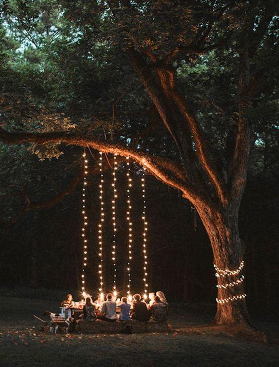 backyard lighting ideas 10