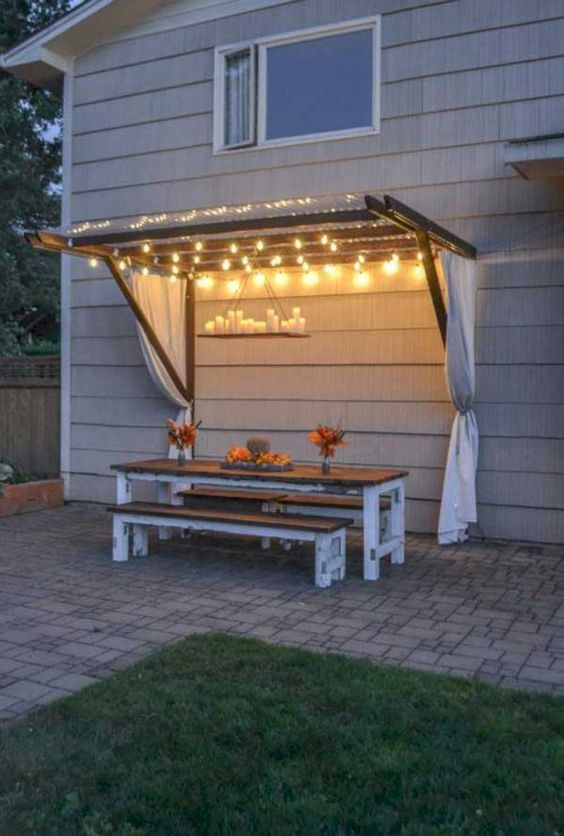 backyard lighting ideas 16