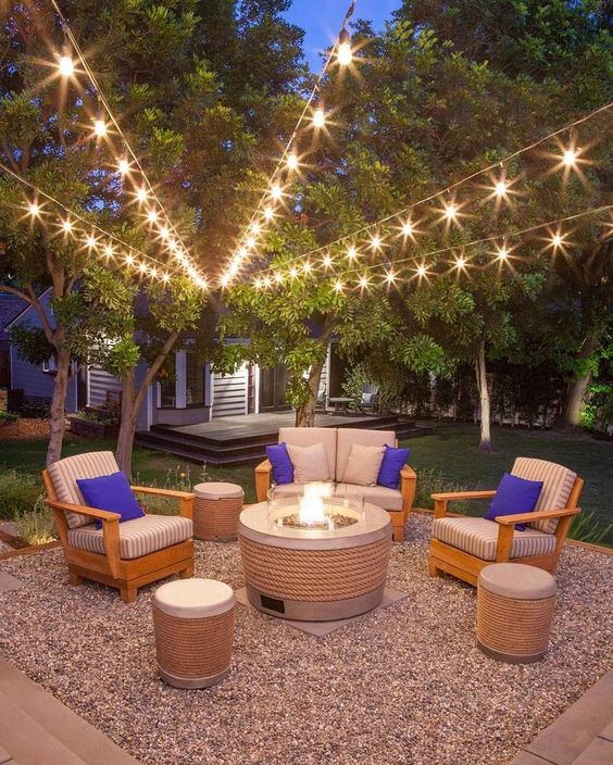 backyard lighting ideas 19