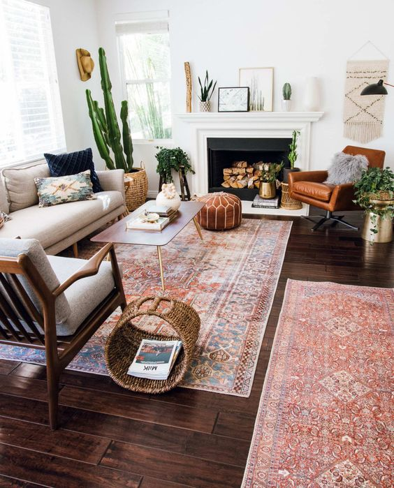 eclectic living room 24