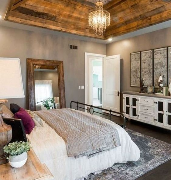 farmhouse bedroom decor 14