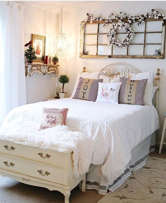 farmhouse bedroom decor 18