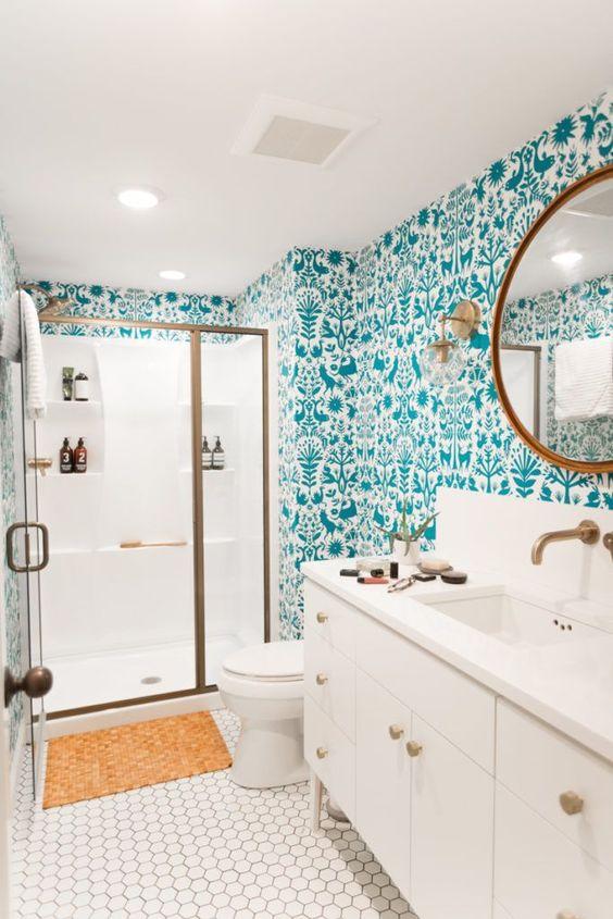 green bathroom ideas 12