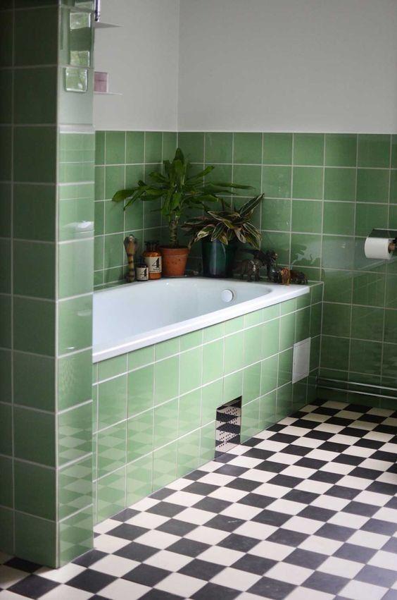 green bathroom ideas 16