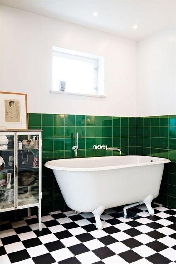 green bathroom ideas 17