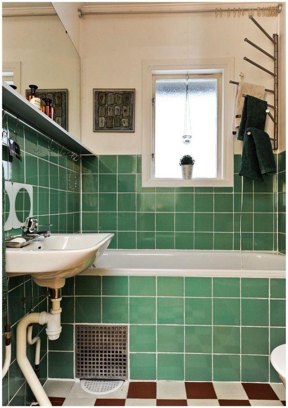 green bathroom ideas 18