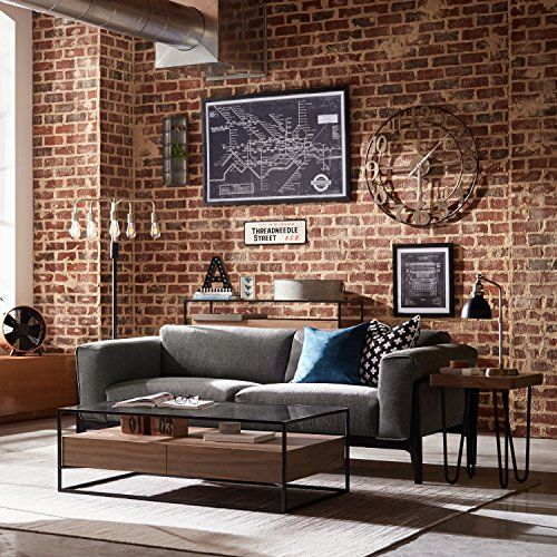 industrial living room 7