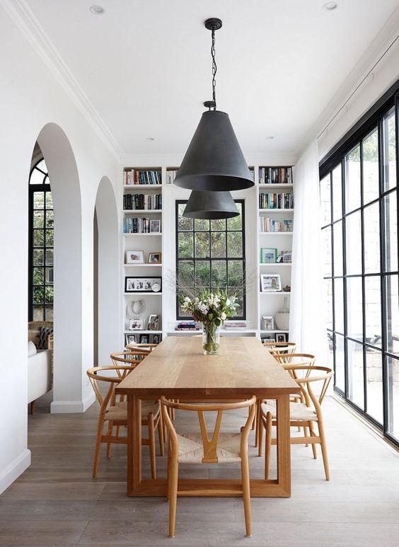 rustic dining room 15