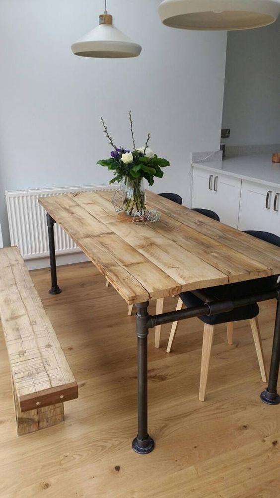 rustic dining room 4