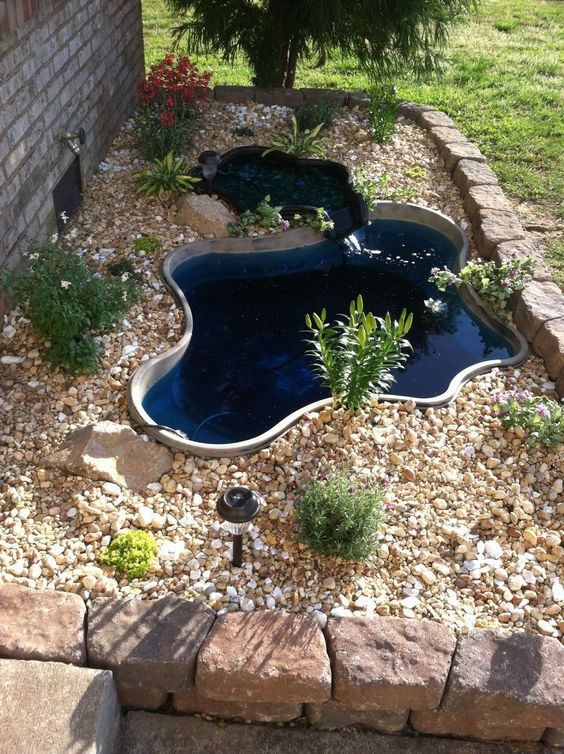 small backyard pond 17