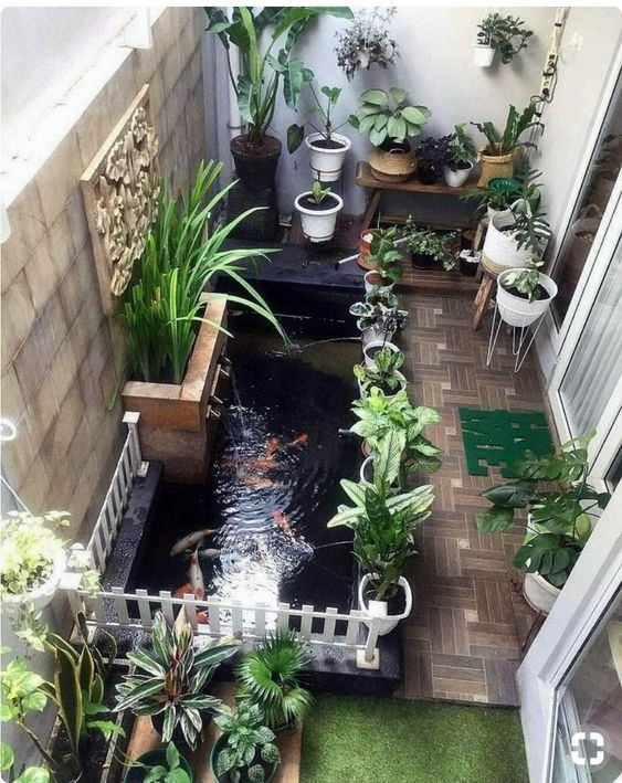 small backyard pond 23