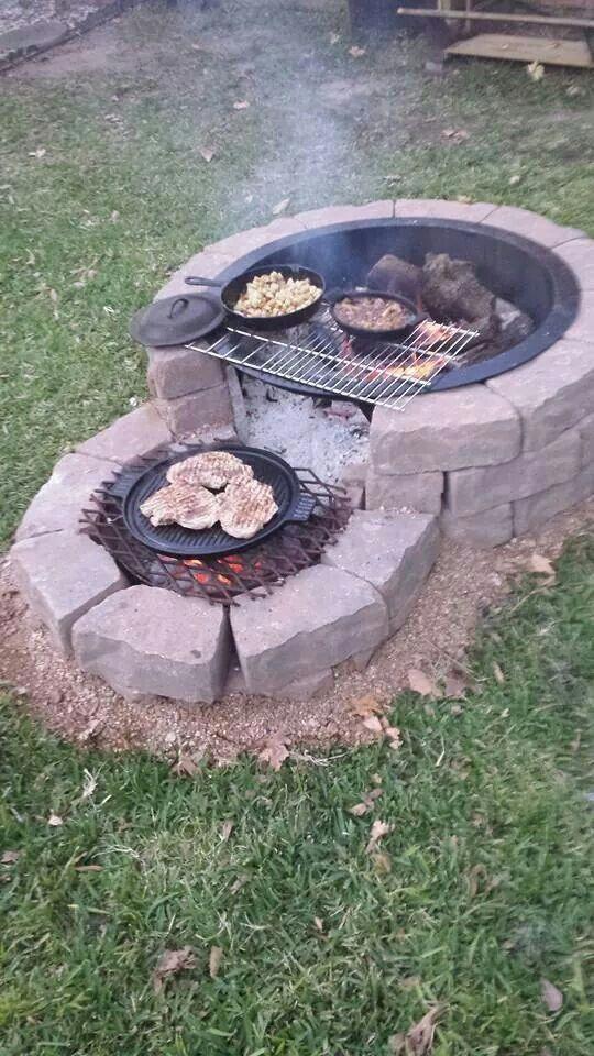 backyard firepit ideas 1
