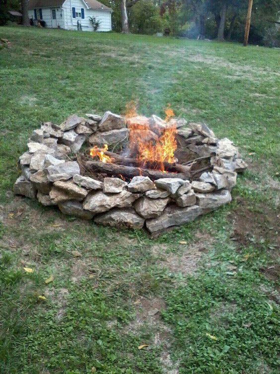 backyard firepit ideas 11