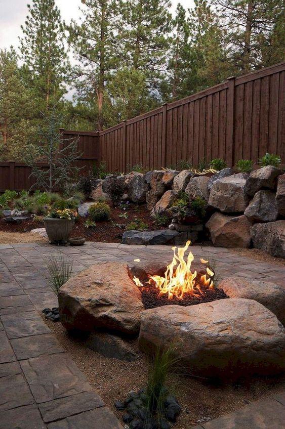 backyard firepit ideas 18