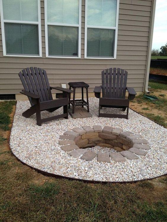 backyard firepit ideas 21