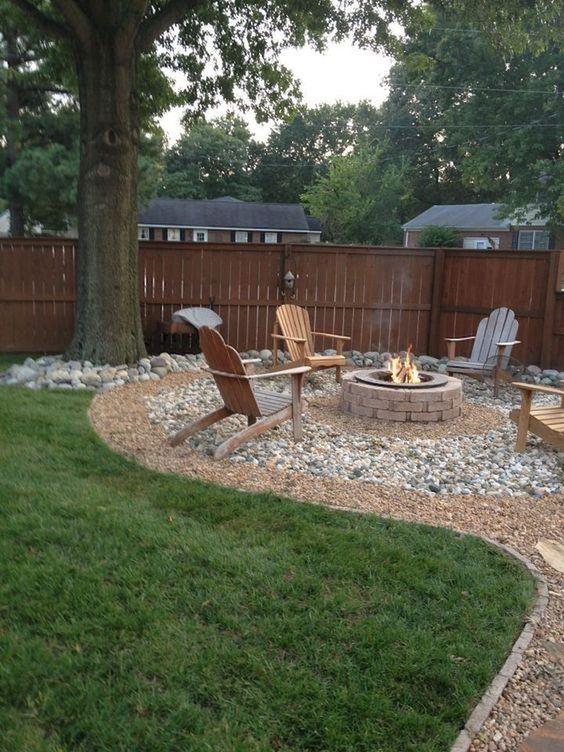 backyard firepit ideas 22