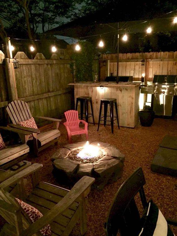 backyard firepit ideas 23