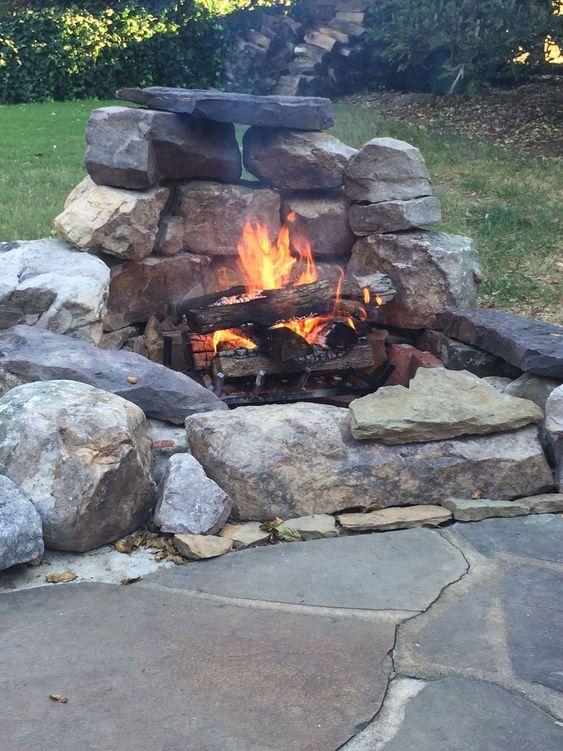 backyard firepit ideas 8
