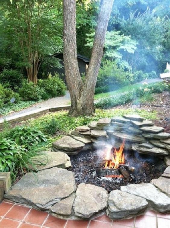 backyard firepit ideas 9
