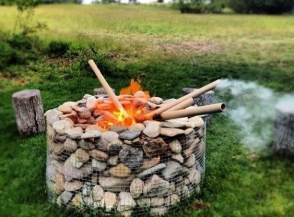 25 Most Inspiring Diy Backyard Firepit Ideas For Summer