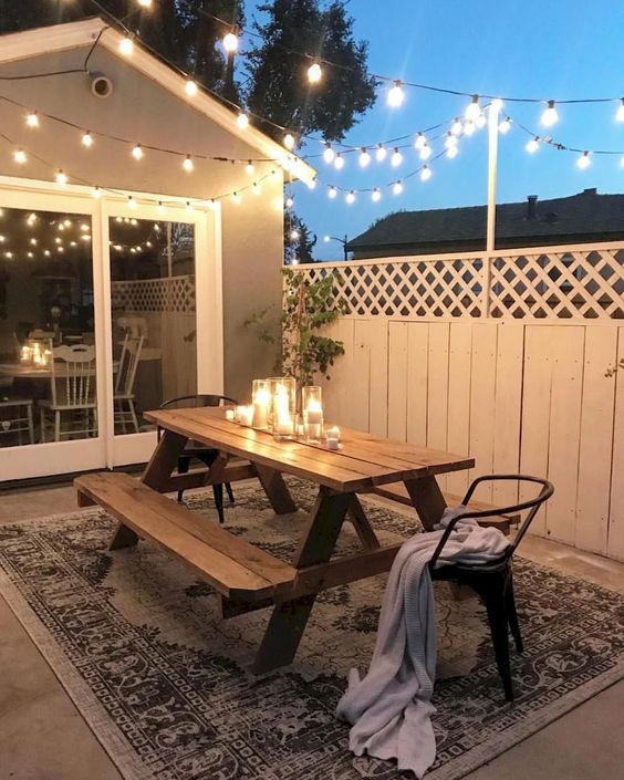 backyard furniture ideas 21