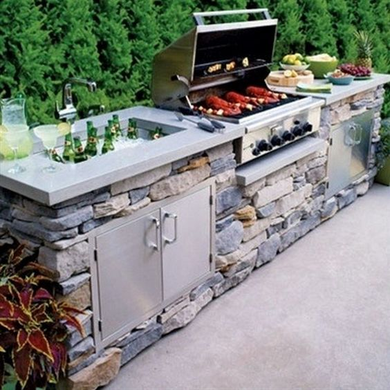 backyard kitchen ideas 13
