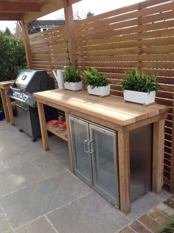 backyard kitchen ideas 16