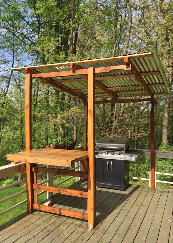 backyard kitchen ideas 24