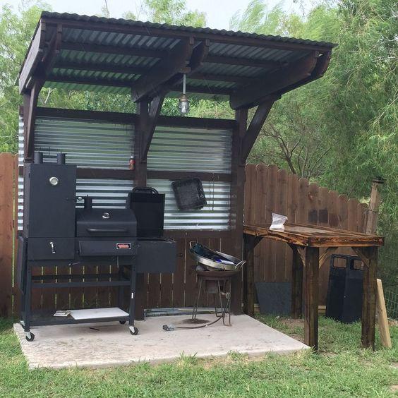 Backyard Kitchen Ideas:Simple DIY Kitchen