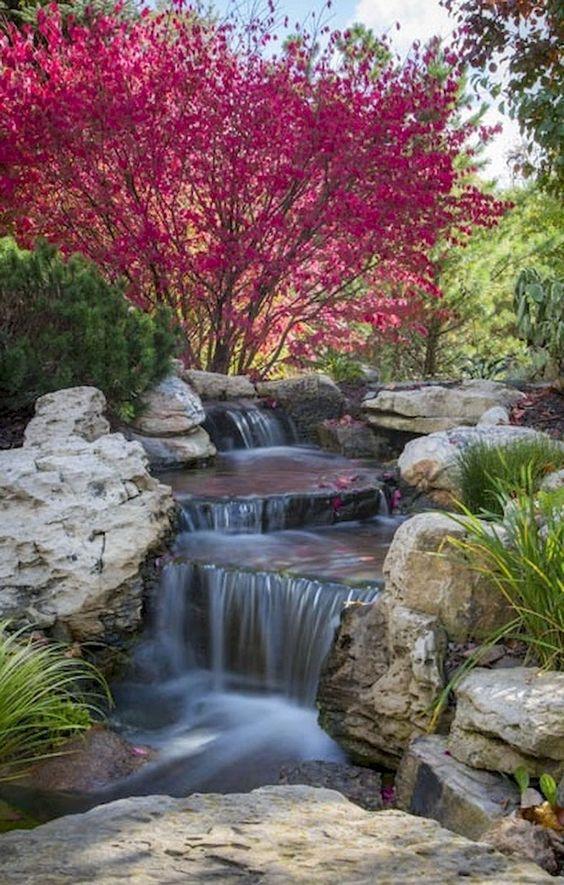 backyard waterfall ideas 1
