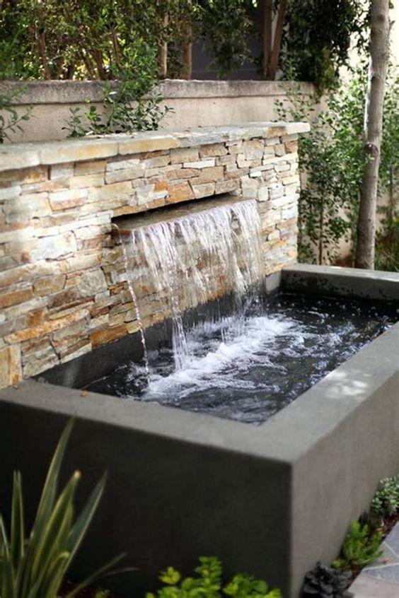 backyard waterfall ideas 12