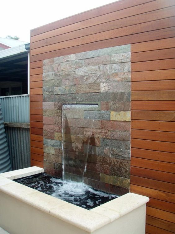 backyard waterfall ideas 15