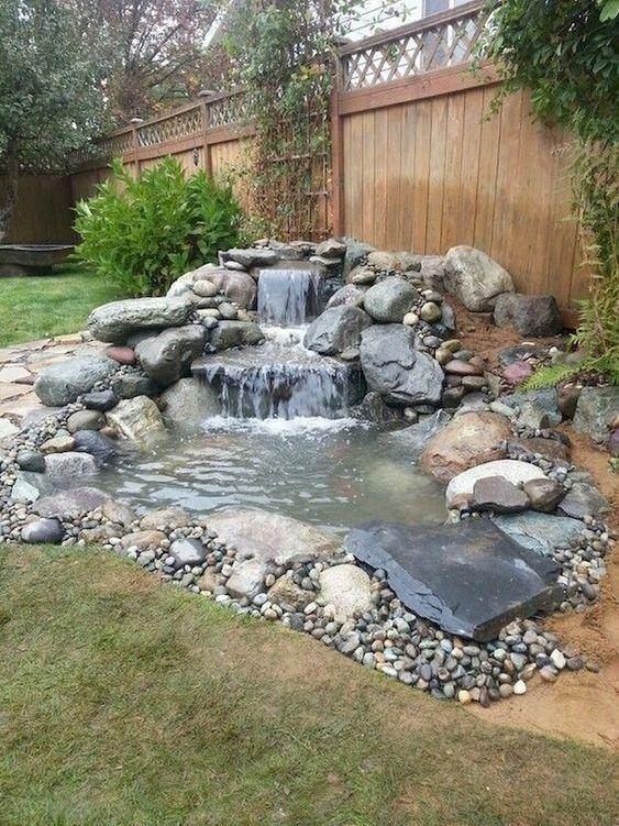 backyard waterfall ideas 2