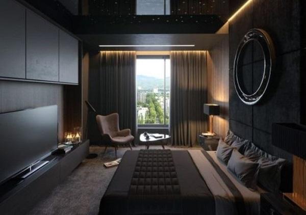 25+ Elegantly Bold Dark Bedroom Ideas for Modern Home ...