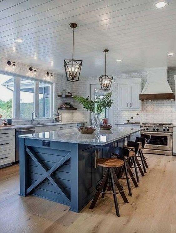 farmhouse kitchen ideas 15