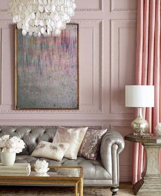 French Country Living Room: Stunning Girly Decor