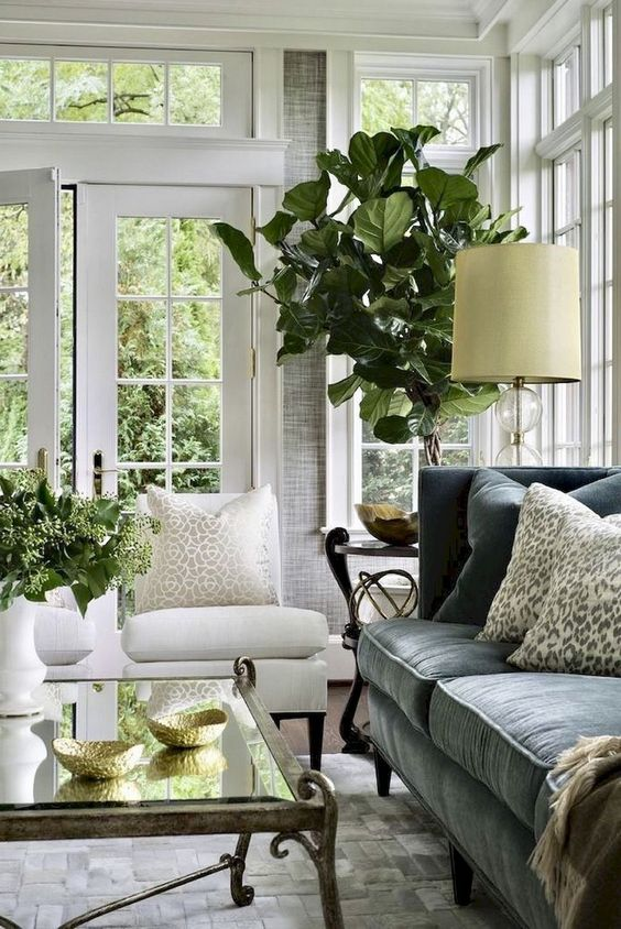 french country living room 17