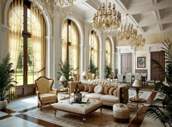 25+ Exquisitely Charming French Country Living Room Ideas ...
