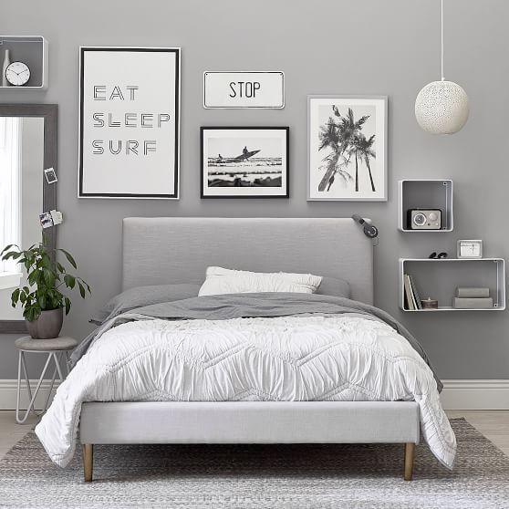 gray bedroom ideas 15