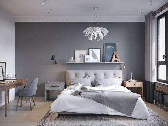 gray bedroom ideas 17